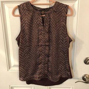 Limited sleeveless blouse